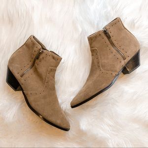 New Marc Fisher Western Pointed Toe Bootie, size 9